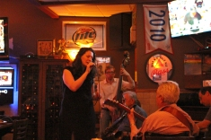 Michelle Lordi and her band at Vintage Bar And Grill.