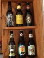 The six beers that I brought home from Weis.