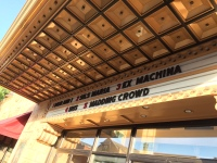 Ex Machina, one of five movies listed on the Ambler Theater's marquee.