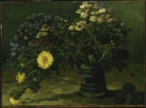 Still Life With A Bouquet Of Daisies. Philadelphia Museum Of Art