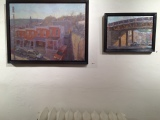 Paintings by Charles Newman at F.A.N. Gallery.