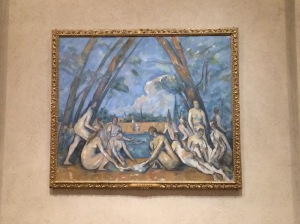 Paul Cezanne's The Large Bathers.