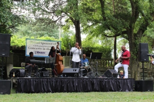 Duane Eubanks Quintet at Curtis Arboretum.