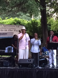 Guest vocalist TC III with Duane Eubanks' group.