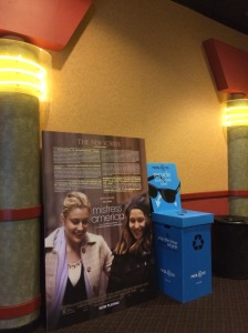 We saw Mistress America at the Regal multiplex in Warrington, PA.