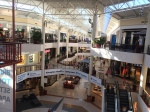 Partial view of the Willow Grove Mall's central court.