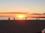 Sunset at Hardings Beach. 5:56 PM.