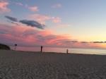 Sunset at Hardings Beach. 6:05 PM.