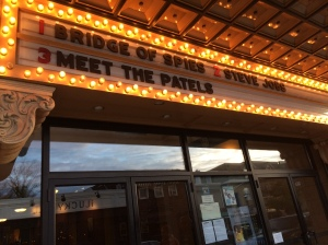 We saw Meet The Patels at the Ambler Theater.