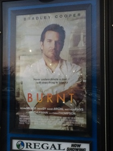 We saw Burnt in Warrington, PA.