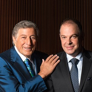 Tony Bennett (left) and Bill Charlap. (Photo by RPM/Columbia Records)