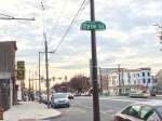 Girard Avenue as seen from Eyre Street.
