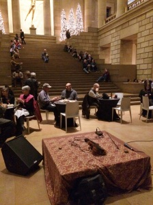 Before the concert in the Great Stair Hall. Photo by Sandra Cherrey Scheinin