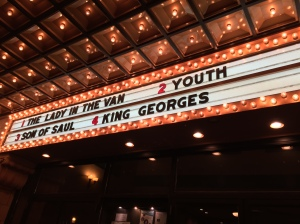We saw King Georges at the Ambler Theater.