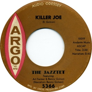 killerjoebenny the-jazztet-featuring-art-farmer-and-benny-golson-killer-joe-argo
