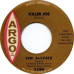 killerjoebenny the-jazztet-featuring-art-farmer-and-benny-golson-killer-joe-argo