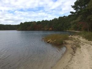 Hawksnest Pond.