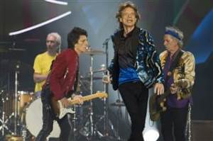 Stones on stage in 2016. Photo by Nelson Almeida/AFP -- Getty Images
