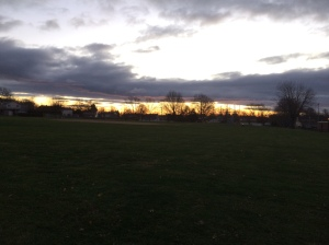 6:53 AM, Dec. 3, 2016. (Thirteen minutes before the Sun broke the horizon)